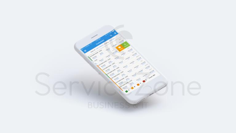 crm mobile app UI UX design